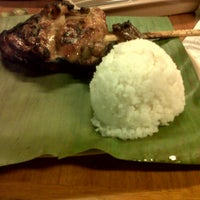Photo taken at Mang Inasal by Leigh P. on 10/6/2012