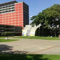 Photo taken at Universidad Central de Venezuela by Valentina on 11/8/2013