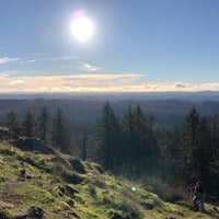 Photo taken at Spencer Butte Park by Chris B. on 11/24/2017