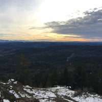 Photo taken at Spencer Butte Park by Chris B. on 12/26/2015