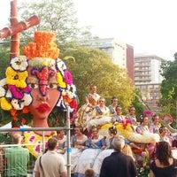 Photo taken at La Batalla de les Flors by Ana M. on 7/27/2014