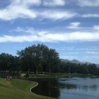 Photo taken at Liberty Park by Holly T. on 6/20/2013