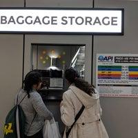 Photo taken at Bag Storage by Bennet G. on 3/1/2018