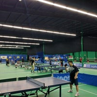 Photo taken at ClearOne Badminton Club by Bennet G. on 6/30/2016