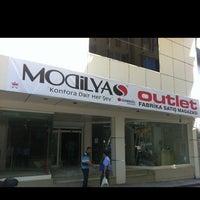 Photo taken at Modilya Collection Mağaza by Ali O. on 7/26/2013