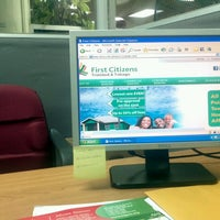 Photo taken at First Citizens Bank (Arima) by Sam C. on 10/10/2012
