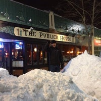 Photo taken at The Publick House by BostonTweet on 2/10/2013