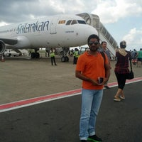 Photo taken at Srilankan Airline UL 102 by Eman K. on 8/13/2013