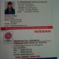 Photo taken at Nissan Nusa Dua by ChyQa M. on 2/27/2013
