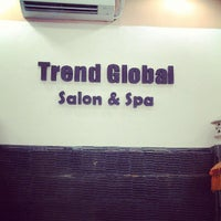 Photo taken at Trend Global Salon & Spa by ChyQa M. on 5/9/2013
