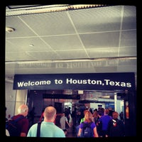 Photo taken at George Bush Intercontinental Airport (IAH) by Nurcan İ. on 6/23/2013