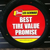 Photo taken at Les Schwab Tire Center by Nicole Y. on 6/14/2013