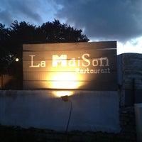 Photo taken at La Maison by Hawa J. on 5/9/2013