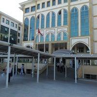 Photo taken at Antalya Adalet Sarayı by Kubilay K. on 7/3/2013