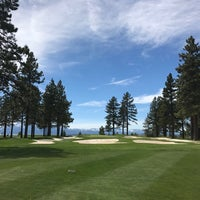 Photo taken at Edgewood Tahoe Golf Course by Kate A. on 5/25/2017