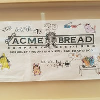 Photo taken at Acme Bread Company by cnelson ︻. on 9/24/2017