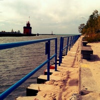 Photo taken at Holland State Park by Julieanna D. on 9/20/2012
