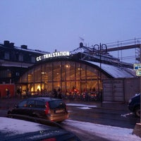 Photo taken at Stockholm Central Railway Station by Udo J. on 2/8/2013