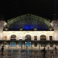 Photo taken at Basel SBB Railway Station by Udo J. on 12/17/2012