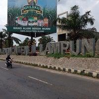 Photo taken at Radin Inten II Airport (TKG) by Mukhtar Ali M. on 11/11/2013