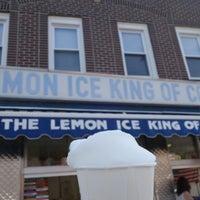 Photo taken at The Lemon Ice King of Corona by Jason L. on 7/18/2014