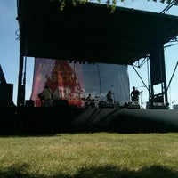 Photo taken at Denton Arts and Jazz Festival by Aaron B. on 4/27/2014