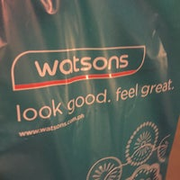 Photo taken at Watsons by Czarina R. on 11/17/2015