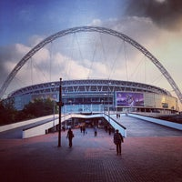 Photo taken at Wembley Stadium by Matteo S. on 9/24/2013