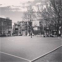 Photo taken at William Sheridan Playground by Michael C. on 5/4/2014