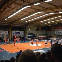 Photo taken at Volley Asse Lennik by Hannelore D. on 2/5/2014