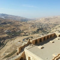 Photo taken at Karak Castle قلعة الكرك by Christian R. on 10/29/2012