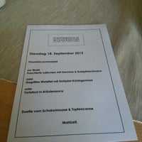 Photo taken at Stadtwirtshaus Wolkersdorf by Christian R. on 9/18/2012
