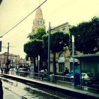 Photo taken at Station Jardin Botanique Ⓐ by Issa i. on 5/21/2014
