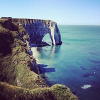 Photo prise au Étretat par Мари С. le8/2/2013