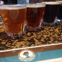 Photo taken at La Jolla Brewing Company by Erin M. on 3/17/2014