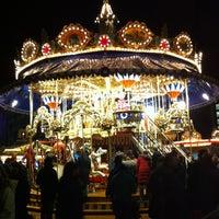 Photo taken at Leipziger Weihnachtsmarkt by Duygu S. on 12/15/2012