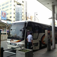 Photo taken at 松山市駅 バスターミナル by Sky&Cloud on 9/13/2013