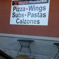 Photo taken at Tony's Pizzeria And Deli by Benjamin O. on 10/28/2013