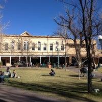 Photo taken at Santa Fe Plaza by Luciana M. on 3/14/2013