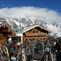 Photo taken at Steinbockalm by Oliver S. on 2/6/2014