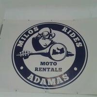 Photo taken at Milos Rides by Manolis P. on 6/14/2013