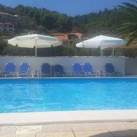 Photo taken at Alexaria Holidays Apartments by kostas g. on 8/14/2014
