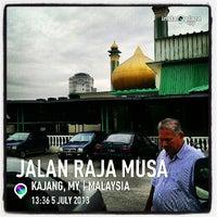 Photo taken at Masjid kajang by MD P. on 7/5/2013