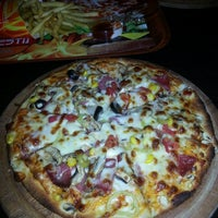 Photo taken at Prestij Burger Pizza by almira s. on 8/23/2013