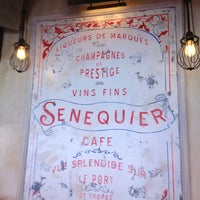 Photo taken at Senequier by Billur K. on 7/11/2013