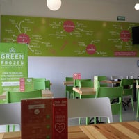 Photo taken at Green & Frozen by Francisco G. on 2/22/2014