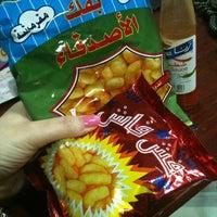 Photo taken at بقاله خيرات طيبه by Marwah A. on 6/16/2013