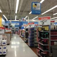 Photo taken at Walmart Supercenter by GIl M. on 1/28/2013