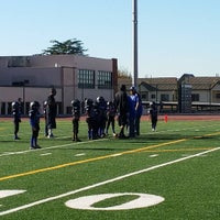 Photo taken at Burbank High Football Field by Crystal G. on 11/7/2015