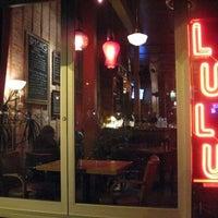 Photo taken at Lulu Cafe by John G. on 1/14/2013